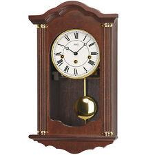 AMS Régulateur avec pendule horloge à mécanique Noyer 4/4 Westminster Neuf