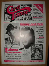 CARD TIMES MAGAZINE FORMERLY CIGARETTE CARD MONTHLY No 92 SEPTEMBER 1997