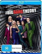 The Big Bang Theory : Season 6 (Blu-ray, 2013, 2-Disc Set)