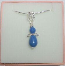 Modeschmuck-Halsketten aus gemischten Metallen mit Perle
