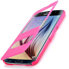 étui FLIP-COVER HOUSSE portable SAMSUNG Galaxy S6 SM-G920F poche de protection