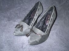 """POETIC LICENCE """" LADY LUCK TEAL WEDGES"""" SHOES SIZE 38 US 8"""