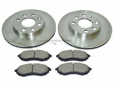 CHEVROLET KALOS 1.2 1.4 2003-2008 FRONT 2 BRAKE DISCS AND PADS SET BRAND NEW