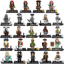 Pirati dei Caraibi 24 minifigure Pirates of the Caribbean custom LEGO compatibil