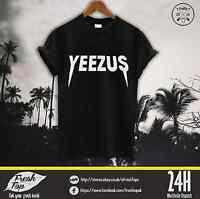 Yeezus T Shirt Jesus Is King Kanye West Homies Dope Music Tour Ticket