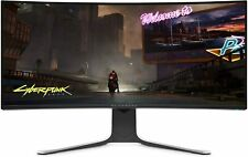 """ALIENWARE AW3420DW NEW Curved 34"""" WQHD 3440 X 1440 120Hz, Monitor new!!!"""