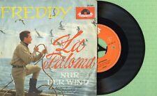 FREDDY QUINN / La Paloma, Nur der wind POLYDOR 24581 EPH Pres Germany 1961 EP G+