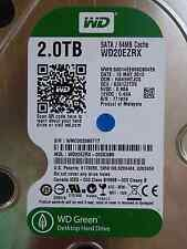 2 TB Western Digital WD20EZRX-00DC0B0 | HANNHTJCG | 13 MAY 2013