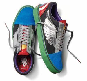 Vans Off The Wall Men's X Marvel Old Skool Shoes - Avengers Multi