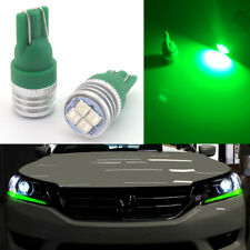 2x Bright Green LED Lights Fit for 2013-2015 Honda Accord Headlight Strip Bulbs