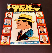 Dick Tracy Large Format Comic Book Magazine Cartoon Chester Gould Artwork DC