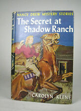 The Secret at Shadow Ranch Nancy Drew Number 5 Carolyn Keene Hardcover DJ 1961?