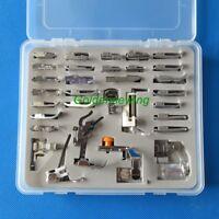 Plastic Box 32 PCS Presser-Foot for PFAFF 130 1371P 139 204 205 206 207 208 209