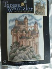 Teresa Wentzler in Miniture Castle  Ridge counted cross stitch kit Sealed
