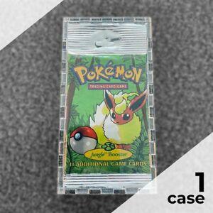 Booster Pack Display Case Box for Pokémon LONG FOILBooster Packs, Framing-Grade