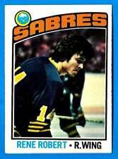 1976-77 Topps RENE ROBERT (vg-) Buffalo Sabres