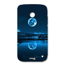 CUSTODIA COVER CASE LUNA RIFLESSA NEL LAGO LUMINOSO PER NOKIA LUMIA 630