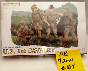 U.S. 1st Cavalry Dragon Models Ltd. #3312 Sealed BoxHong Kong 1/35 RARE 1994