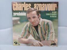 Charles Aznavour – Yerushalaïm                    Barclay – 71203