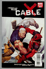Cable #13B Variant Messiah War Deadpool 2009 Nm 9.4