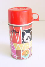 1972 Thermos Who What Where When Tv Show Thermos Bottle Red 8 Oz