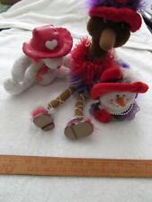 3 - Stuffed Animals With Red Hats