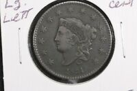 1831 Large Letters Coronet Head Large Cent, Very Fine