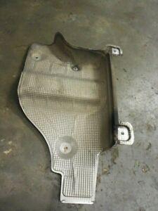 03-06 Porsche Cayenne S Non Turbo Front Rear Exhaust Shield 7L0825681