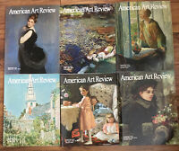 Lot of 6 2009 Issues American Art Review Magazines Feb April Aug June Oct Dec