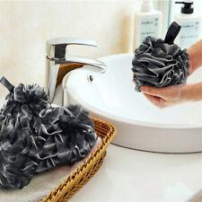 Large Bath Sponge Shower Pouf Rich Bubbles Body Wash Scrubber Mesh Soft Puff