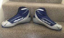 ALPINA Mens Silver Blue SP20 Ski Boots Skiing Snow Size EU48
