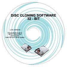 Disque Dur Sauvegarde CLONE DVD image fantôme Copier Duplicateur Disque clonage - 32 bits
