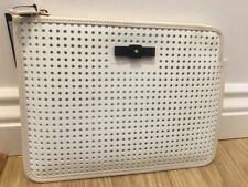 "Marc Jacobs Perforated Mesh 10"" Tablet Cutout Case white green iPad Sleeve"