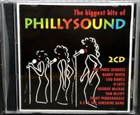 PHILLYSOUND - THE BIGGEST HITS OF, VARIOUS ARTISTS, DOUBLE CD ALBUM.
