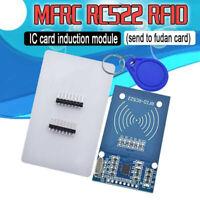 1 Set MFRC-522 RFID IC Card Inductive Sensors Module S50 NFC Card Keyring Set