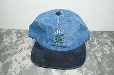 Florida Yard Dog Base Ball / Golf Hat Cap Blue Denim Material New Adjustable