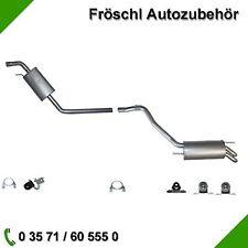 VW Transporter T4 2.5 TDi Edelstahl Mittelschalldämpfer Endschalldämpfer MSD ESD