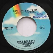 Country 45 Oak Ridge Boys - How Long Has It Been / Fancy Free On Mca