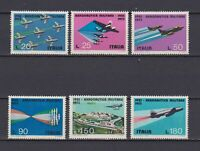 S16989) Italy MNH 1973 Air Force 6v