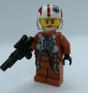 Resistance X-Wing Pilot 75102 Force Awakens Star Wars Lego Minifigure