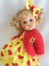 """LADYBUG Doll Dress Hairbow & Coat For 8"""" Vogue Ginny"""