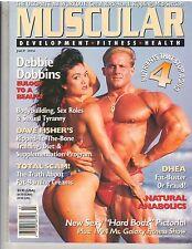 MUSCULAR DEVELOPMENT muscle mag/Craig Titus/Debbie Dobbins/Ursula poster 7-94