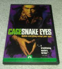 Snake Eyes (Dvd, Widescreen Edition) Nicolas Cage, Gary Sinise, John Heard