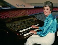Nancy Bea Signed Autographed 8X10 Photo Dodgers Organist Playing w/COA