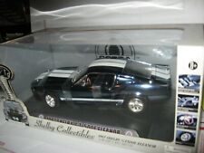 1 18 SHELBY COLLECTIBLES ELEANOR 1967 SHELBY GT 500E ANODIZED BLUE CHROME CHASE