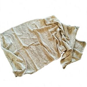 Linen towel Cape for bath, sea, shaping, yoga. Double sided weaving European