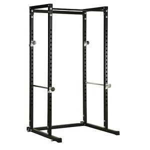 Hardcastle Weightlifting Power Cage Squat Rack Bench Press Gym Pullup Bar Stand