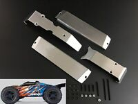 Stainless Steel Chassis Armor Skid Plate for 1/10 Traxxas ERevo E-Revo 2.0 New