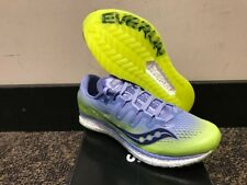 Women's Size 9 Saucony Freedom ISO Running Shoes New In Box Purple/Citron S10355