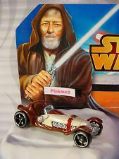 2015 STAR WARS Disney OBI-WAN KENOBI ✰Loose✰Hot Wheels Character sports car